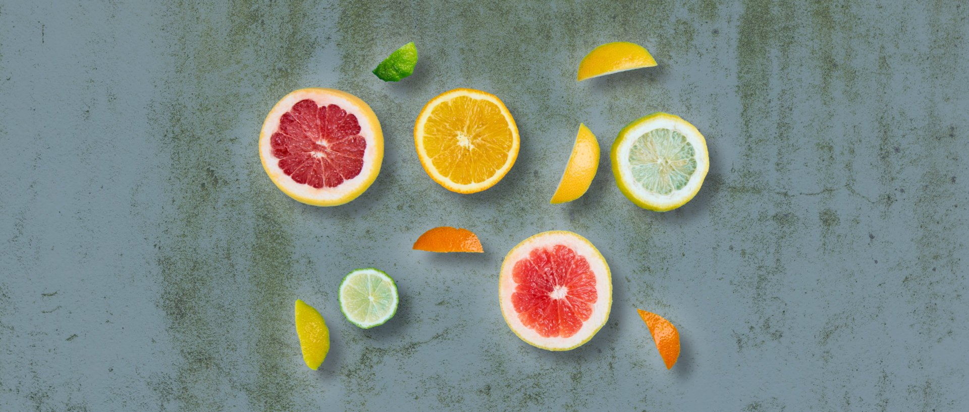 Organic citrus fruits for lemonade